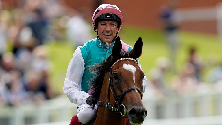 Frankie Dettori and Enable receive the adoration of the Sandown crowd