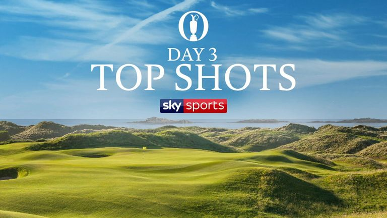A selection of the best shots from the third round of The Open Championship at Royal Portrush.