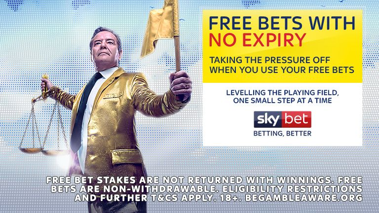 SKY BET - FREE BETS WITH NO EXPIRY