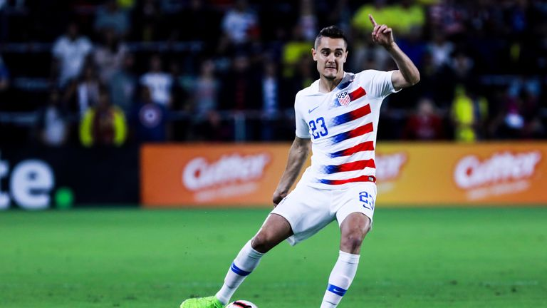 Aaron Long for USMNT