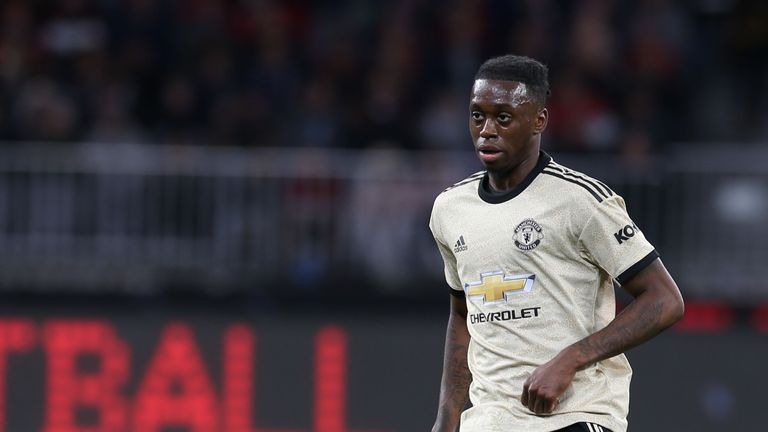 Aaron Wan-Bissaka joined United for £50m from Crystal Palace