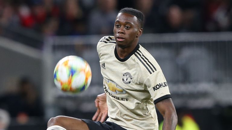 Aaron Wan-Bissaka made his Manchester United debut against Perth Glory on Saturday