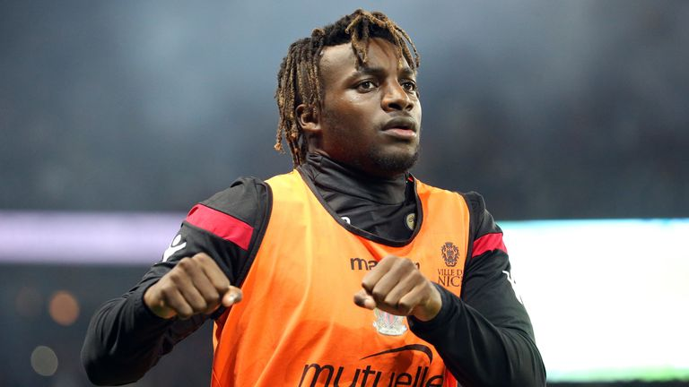 Nice winger Allan Saint-Maximin is also a transfer target for Watford