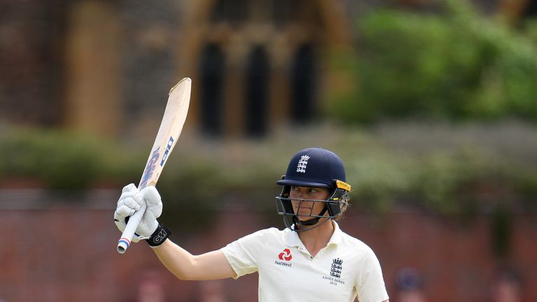 Amy Jones is a key part of England's set-up, with gloves and bat