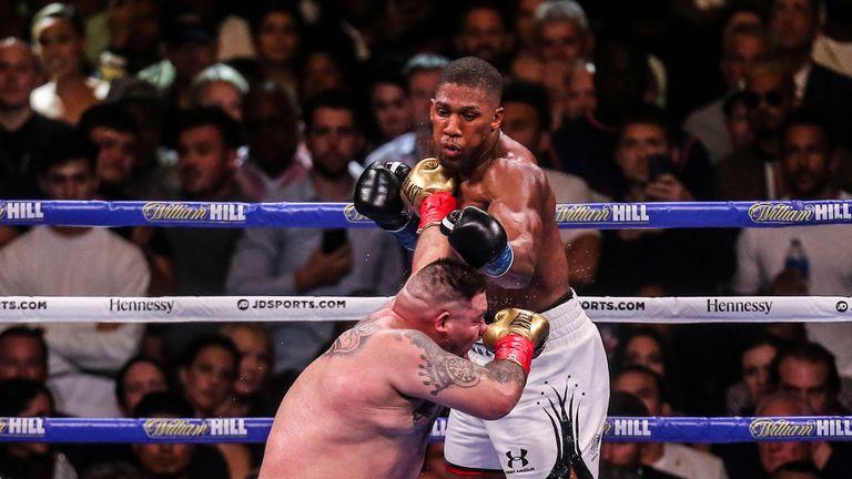 Joshua vs Ruiz Jr