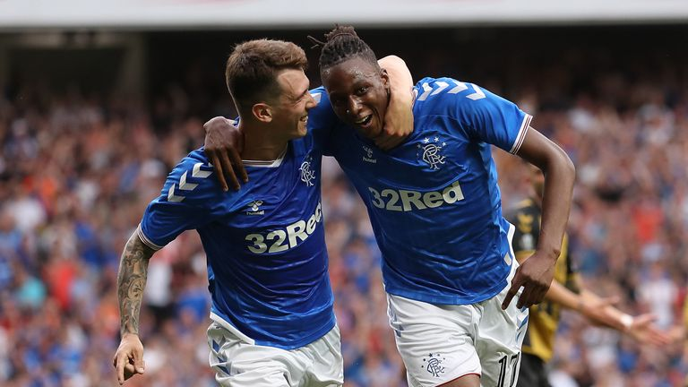 Joe Aribo fires Rangers in front inside 20 minutes at Ibrox