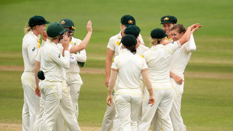 Australia Women retained the Ashes for a second successive time