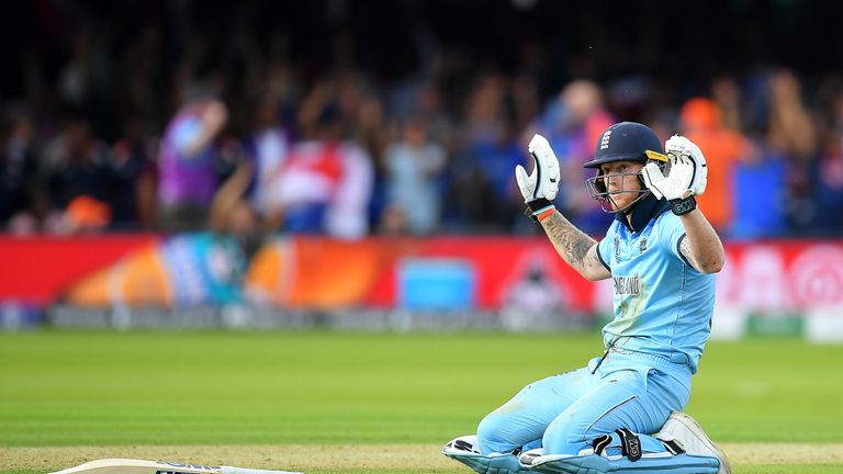 Ben Stokes, England, Cricket World Cup final vs New Zealand at Lord's