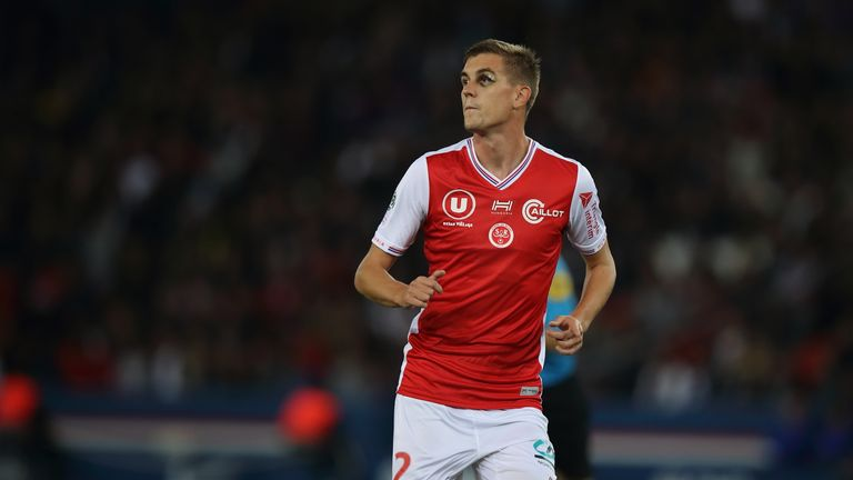 Bjorn Engels joins Aston Villa from Reims