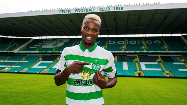 Celtic's latest signing, Boli Bolingoli-Mbombo is unveiled