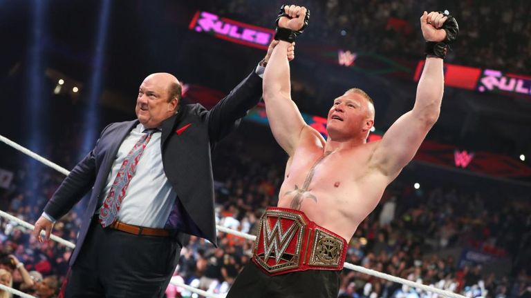 Brock Lesnar is beginning his third reign as Universal champion