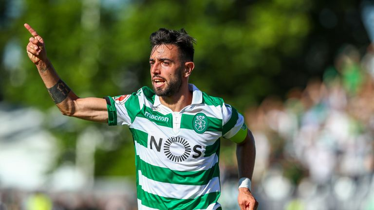 Bruno Fernandes has been linked with United for several seasons