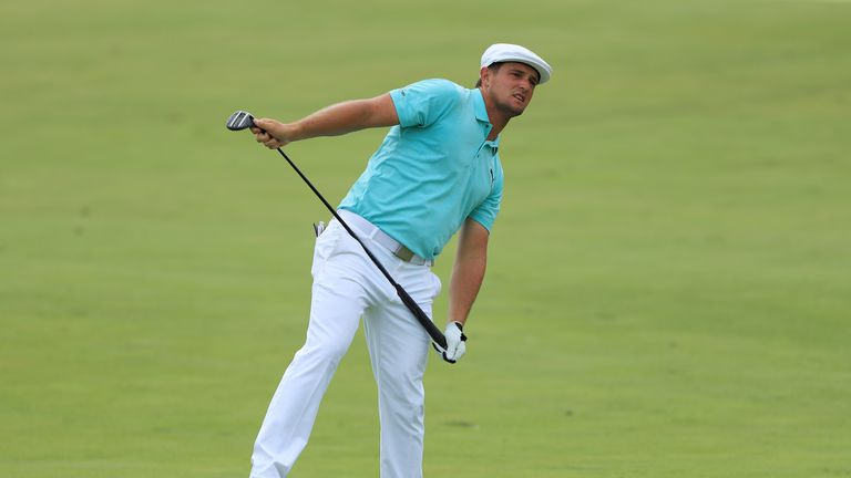 DeChambeau carded nine birdies in his 62 and has yet to drop a shot in 36 holes