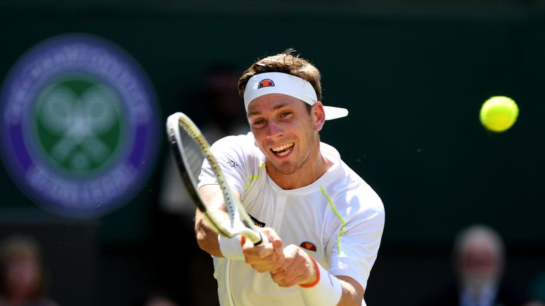 Cameron Norrie slipped to a heavy defeat at the hands of Kei Nishikori