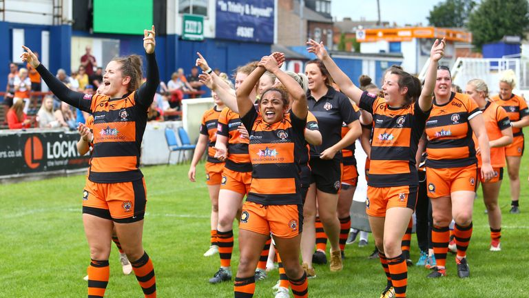 Castleford are unbeaten in the Cup and Women's Super League