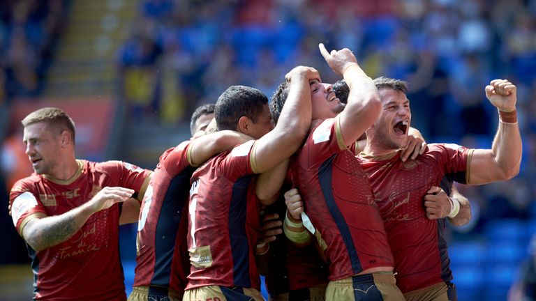 Catalans Dragons have good memories of last year's Challenge Cup semi-final in Bolton