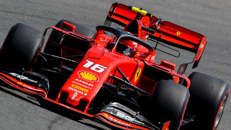 German GP, Practice Two: Charles Leclerc fastest for red-hot Ferrari