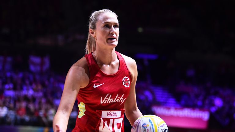 Chelsea Pitman is back for England's Vitality Nations Cup campaign