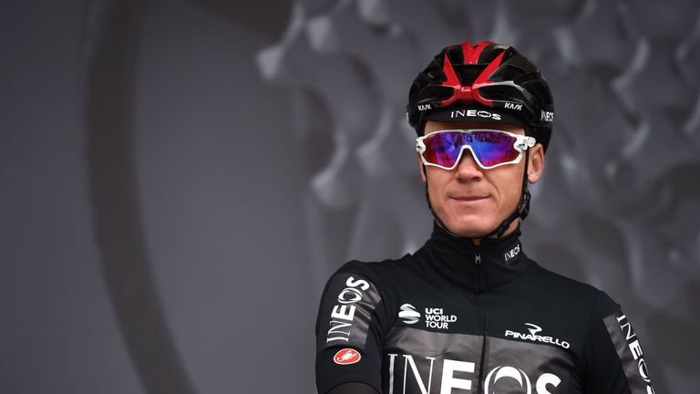 Chris  Froome becomes Britain's first Grand Tour winner