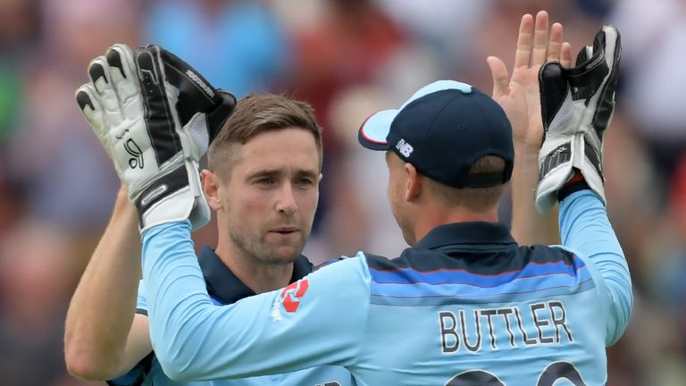 Woakes impressed on his home ground in the semi-final win over Australia