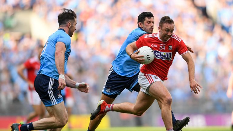 Paul Kerrigan was lively for the Rebels in the first-half