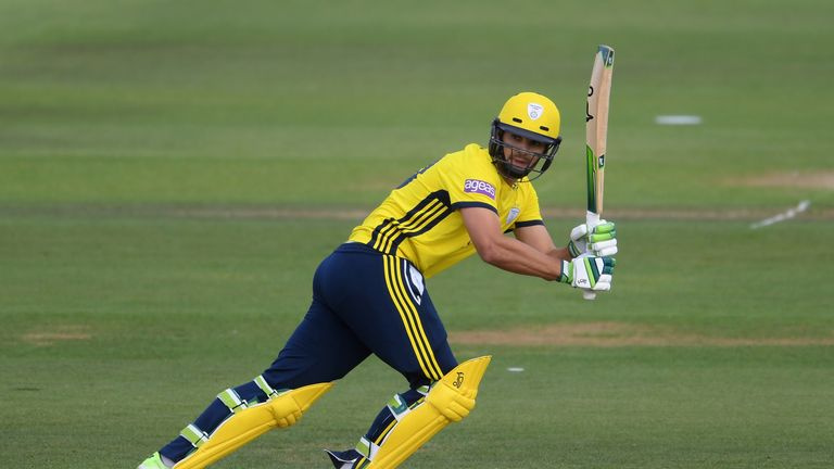 Rilee Roussouw has a superb strike rate of 146 for Hampshire
