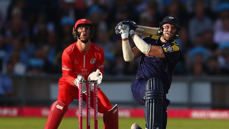David Willey should be available throughout the tournament for Yorkshire