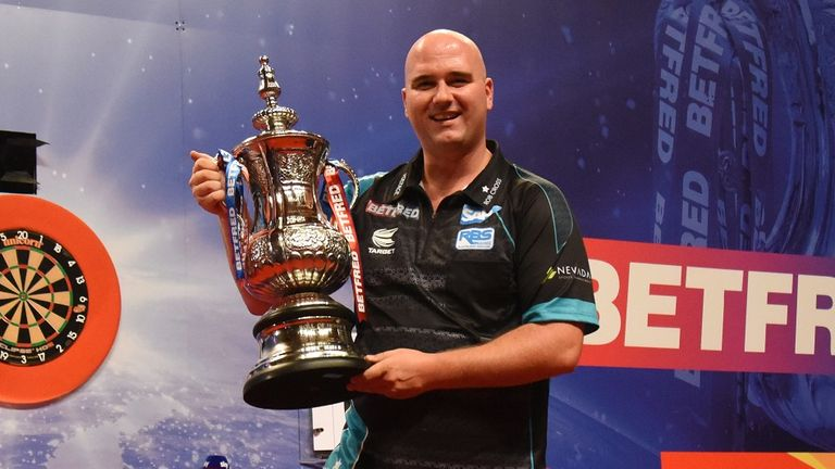 Rob Cross has now won two of the biggest prizes in world darts