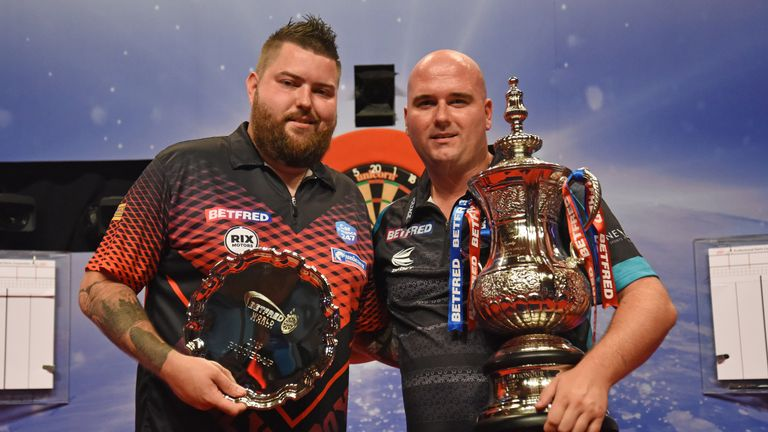 World Cup partners Rob Cross and Michael Smith contested this year's World Matchplay final