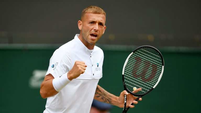 Dan Evans qualifies for the main draw of the Rogers Cup