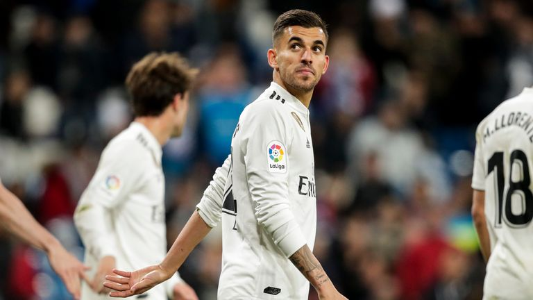 Dani Ceballos made 56 appearances in two years at Real Madrid