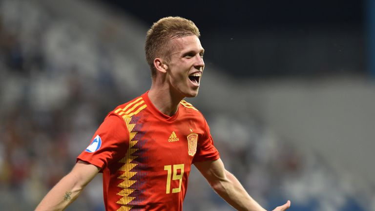 Spain international Dani Olmo has attracted interest from Italy