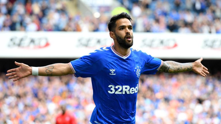 Candeias joined Rangers in 2017