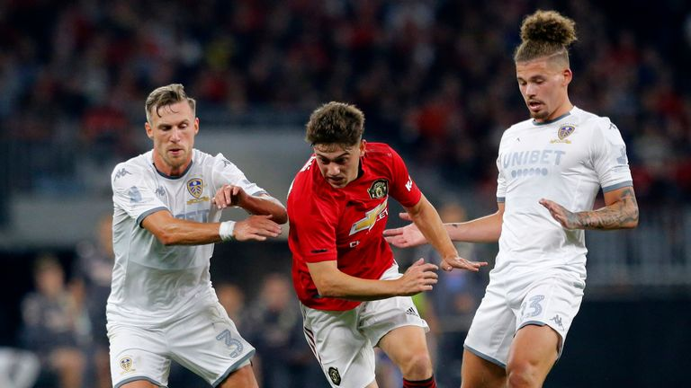 Daniel James made his second Man Utd appearance