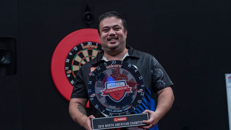 Danny Baggish claimed a memorable victory in Las Vegas to win a place at the World Championships in December