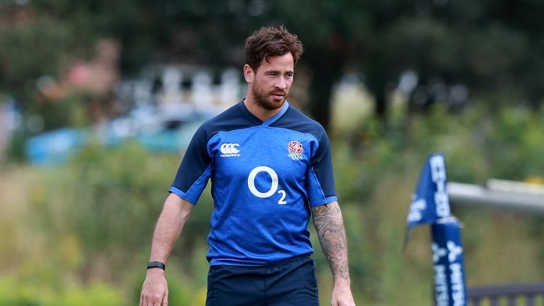 Danny Cipriani will train away from the main group at England's training camp