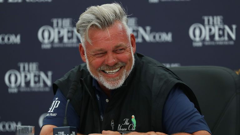 Darren Clarke will hit the first tee shot of The 148th Open