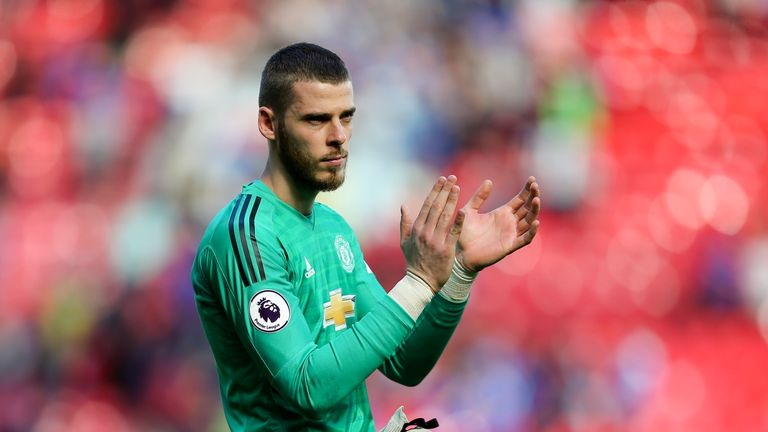 David de Gea looks set to sign a new long-term deal