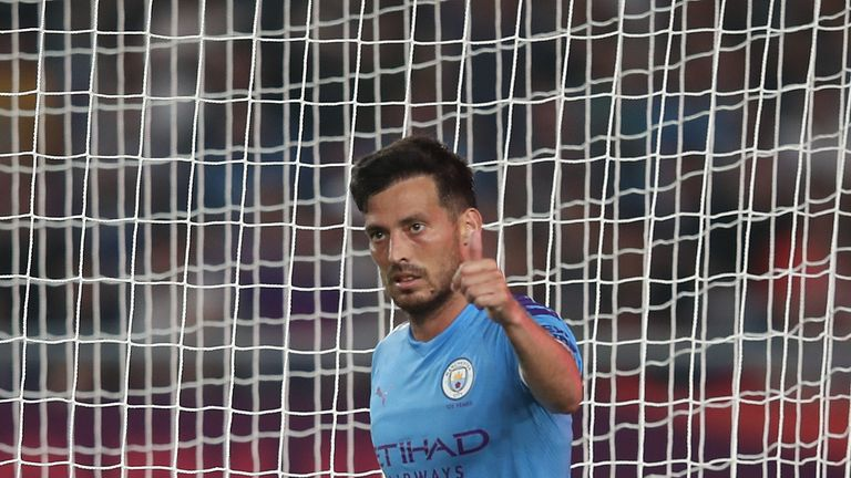 Silva equalised for City at an important stage