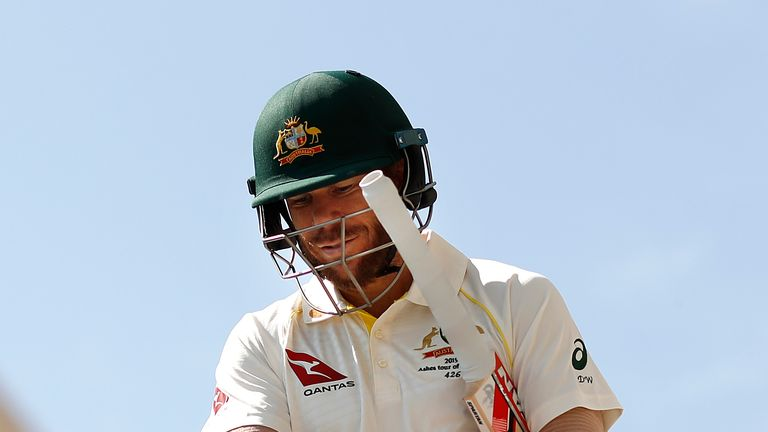 Aussie injury scare ahead of Ashes as David Warner gets roughed up