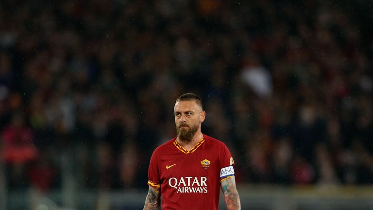 Daniele De Rossi Signs For Boca Juniors After Leaving Roma Football News Sky Sports