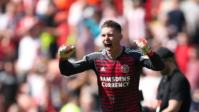Dean Henderson is on the verge of a return to Sheffield United