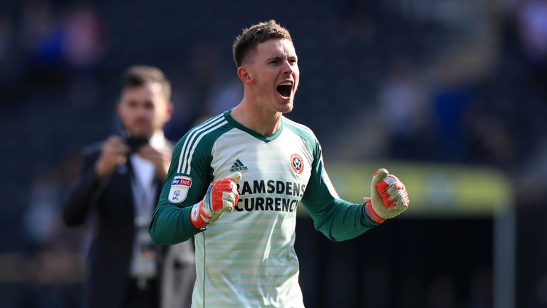 Dean Henderson is back at Bramall Lane