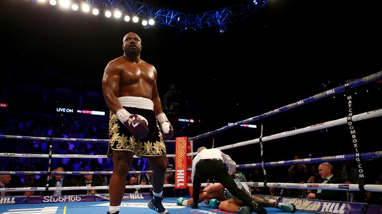 Chisora wins in spectacular fashion