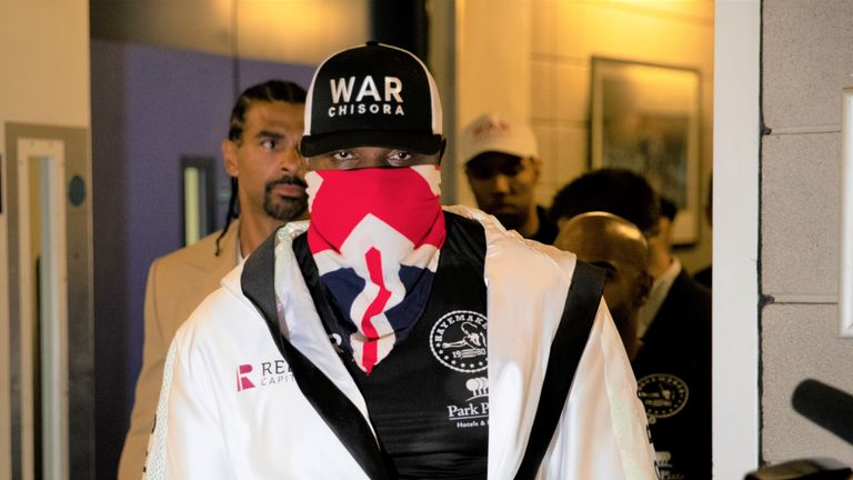 Derek Chisora has been preparing with trainer David Coldwell for a crucial clash