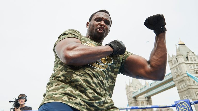 Dillian Whyte must deal with Oscar Rivas before a WBC title fight becomes a reality