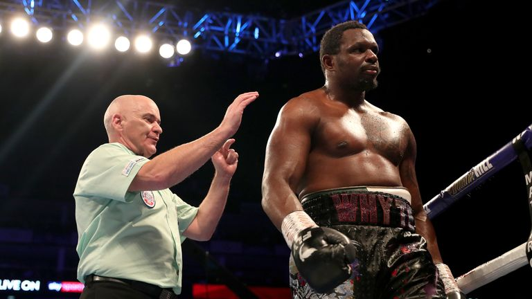 WBC say Dillian Whyte will have 'opportunity to prove innocence' after allegations of failed drug test
