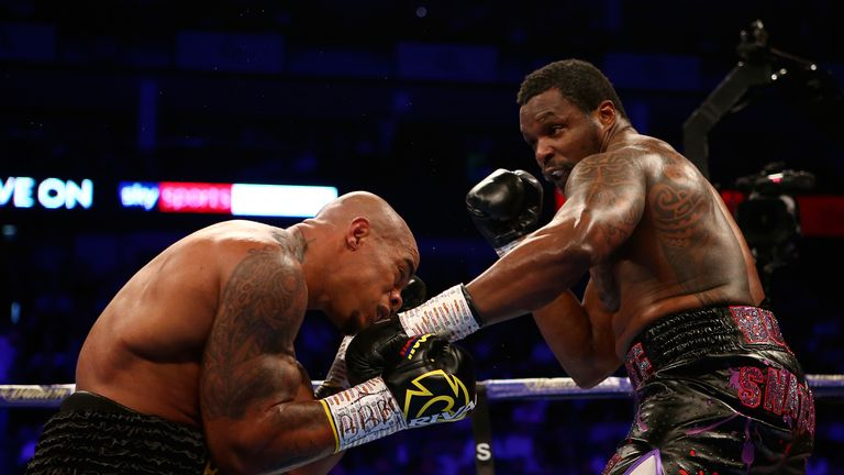Dillian Whyte v Oscar Rivas, WBC Interim Heavyweight Title,  O2 Arena, London..20th July 2019..Picture By Dave Thompson. .
