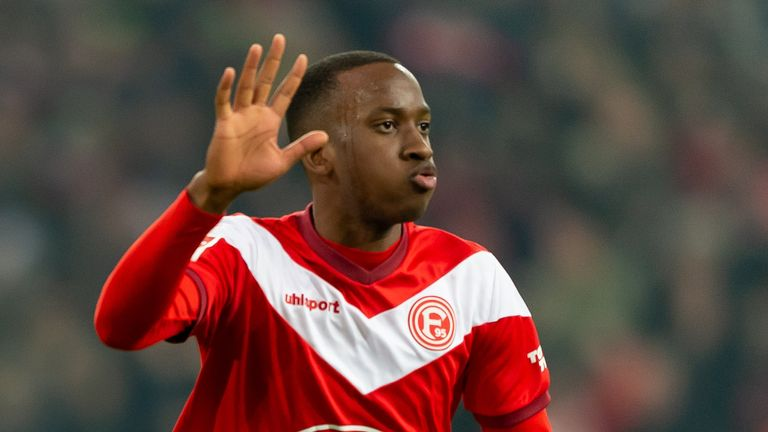 Dodi Lukebakio, wanted by Lille, spent time on loan with Duesseldorf