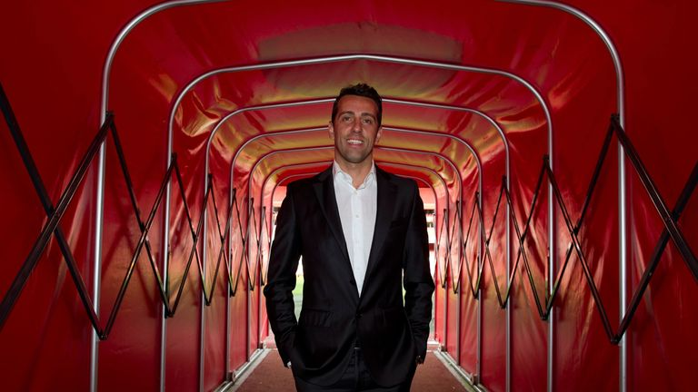Arsenal technical director Edu